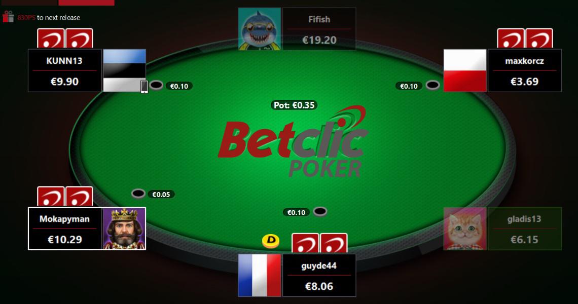 Poker Betclic
