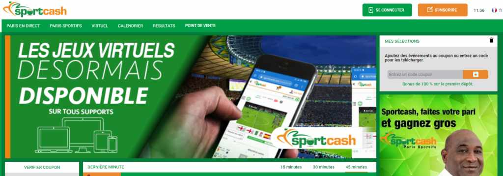 Télécharger application Sportcash